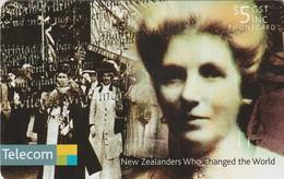 TARJETA TELEFONICA DE NUEVA ZELANDA, Kate Shepard. NZ-C-122. (084) - Neuseeland