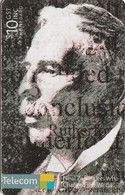 TARJETA TELEFONICA DE NUEVA ZELANDA, Ernest Lord Rutherford. NZ-C-124. (085) - Neuseeland