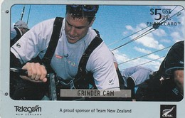 TARJETA TELEFONICA DE NUEVA ZELANDA, Grinder Cam. NZ-C-090. (086) - Neuseeland