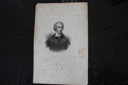 DH / William Pitt Le Jeune (28 Mai 1759 – 23 Janvier 1806) Est Un Homme D'État Britannique De La Fin Du Xvii  / 16x24 Cm - Documents Historiques
