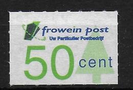 Nerderland Stadspost Privat Post Local Mail Frowein Post - Nederland