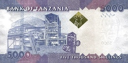 TANZANIA P. 43b 5000 S 2015 UNC - Tanzanie