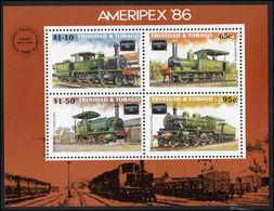 Trinidad & Tobago 1986 Amphilex Souvenir Sheet Unmounted Mint. - Trengganu
