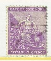 Cape Of Good Hope  18  (o)    CC Wmk. - Cape Of Good Hope (1853-1904)