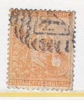 CAPE   OF GOOD  HOPE 28   (o)  Wmk 1 - South Africa (...-1961)