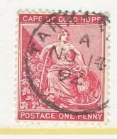 Cape Of Good Hope  43  (o)    ANCHOR Wmk. - South Africa (...-1961)