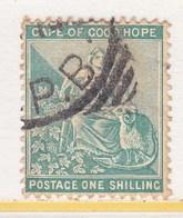 Cape Of Good Hope 51  (o)   Wmk 16 Fancy Anchor - Cape Of Good Hope (1853-1904)