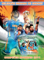 Guinea Bissau 2011 India's Cricket World Champions 2011 - Guinea-Bissau