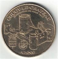 Monnaie De Paris 02.Coucy - Le Château  2007 - Monnaie De Paris