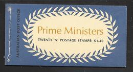 Australia - 1971 $1.40 Prime Ministers Booklet - N71/3 Edition S.G. SB51 MNH - Libretti