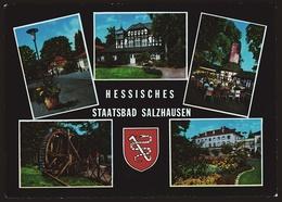 Staatsbad Salzhausen  -  Mehrbild-Ansichtskarte Ca. 1970    (10885) - Wetterau - Kreis