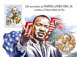 Guinea Bissau 2014 Martin Luther King Jr's Nobel Peace Prize - Guinea-Bissau
