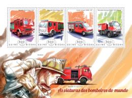 Guinea Bissau 2014 Fire Engines - Guinea-Bissau