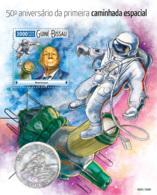 Guinea Bissau 2015  First Spacewalk  ,Alexei Leonov  Space - Guinea-Bissau