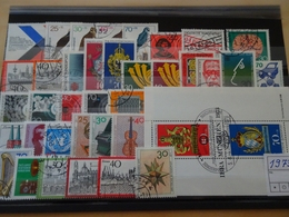 Bund Jahrgang 1973 Gestempelt Komplett (7919) - Used Stamps