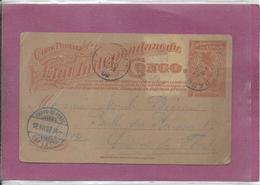 ETAT INDEPENDANT DU CONGO - Stamped Stationery