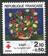 FRANCE 2345 Croix-Rouge Corbeille De Rose D'après Caly - France