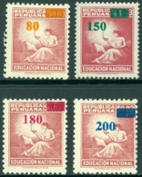 PERU 1982 SURCHARGES** (MNH) - Pérou