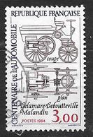 FRANCE 2341 Centenaire De L'automobile Plan Du Véhicule Delamare-Deboutteville-Malandin - France