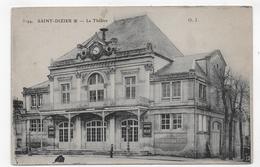 SAINT DIZIER EN 1916 - N° 3194 - LE THEATRE - LEGER PLI A GAUCHE - CPA VOYAGEE - Saint Dizier