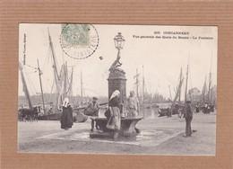 CPA 29, Concarneau, Vue Générale Des Quais Du Bassin, La Fontaine, Animée, N° 218, Collection Villard Quimper - Concarneau