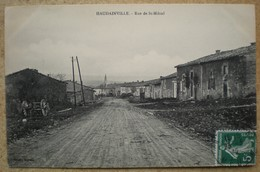 1 CPA 55 HAUDAINVILLE Rue De St Michel - France