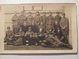 Cartolina Gruppo Soldati Italiani Casale Monferrato - Guerra 1914-18
