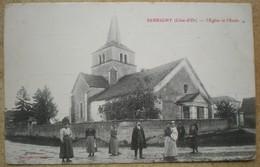 1 CPA Vierge 21 SERRIGNY L'église Et L'école - Other Municipalities