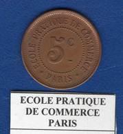 Paris  5  Cents - Monetary / Of Necessity