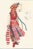 CART. DISEGNATA FOLCLORE RUSSO: COSTUMI (41) - Costumi