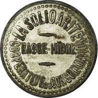 Monnaie, France, Coop. De Consommation, La Solidarité, Basse-Indre, 5 Centimes - Monétaires / De Nécessité