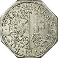 Monnaie, Suisse, Soupes Municipales, Genève, Jeton, 1917-1918, SUP, Aluminium - Monétaires / De Nécessité