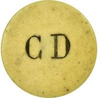 Monnaie, France, C. D (C. Dastarac, Patissier, 9 Rue Fondaudège), Bordeaux, 5 - Monetary / Of Necessity