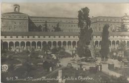 ROMA MUSEO NAZIONALE CORTILE E CHIOSTRO   (4) - Musei