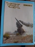 VOX Militair Weekblad 23 Oktober 1980 - 7e Jaargang N° 37 - Uitgave SID ( Zie Foto's Voor En Achterkant ) ! - Revistas & Periódicos