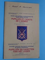 PUPILLES Et CADETS De L'ARMEE - PUPILLEN En KADETTEN V/h LEGER > September / Oktober 1980 - N° 4 - 55e Jaargang ! - Revistas & Periódicos
