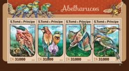 Sao Tome 2016  Fauna Bee Eaters, Birds - Sao Tome And Principe