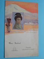 "Paquebot "" ALBERTVILLE "" Cie Maritime Belge > Menu * Spijskaart > 2de Classe Diner 5 Mai 1937 ( Zie / Voir Photo ) ! - Menus"