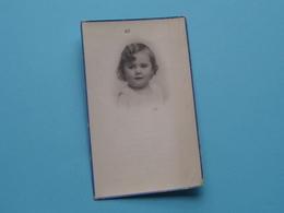 DP Anna-Maria JANSSENS 27 Juli 1931 > 4 December 1935 > Antwerpen ( Voir Photo ) ! - Décès
