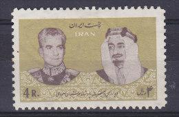 Iran 1965 Mi. 1272     4 R Besuch Des Saudiarabischen Königs Feisal MH* - Iran