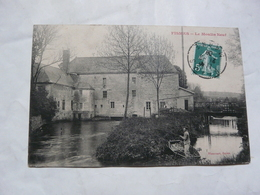 CPA 51 MARNE-FISMES 1911 : Le Moulin Neuf - Fismes