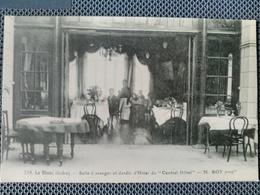 Le Blanc - Salle à Manger Et Jardin D'hiver Du Central Hotel. Mr ROY Propriétaire.  Rare. - Le Blanc