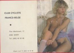 Kalender / Calendrier ... Coquin ...nu -1984 ( 2 ) - Petit Format : 1981-90