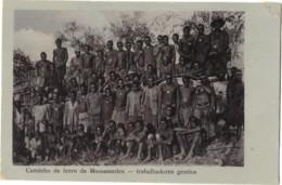 Angola - Caminho De Ferro De Mossamedes Trabalhadores Gentios - Angola