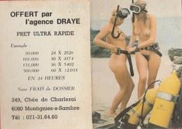 Kalender / Calendrier ... Coquin ... Nu -1980 ( 4 ) - Calendarios