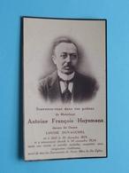 DP Antoine HUYSMANS ( Louise DUVAUCHEL ) Moll 30 Dec > 14 Nov 1924 ( Zie Foto's ) Mol ! - Décès