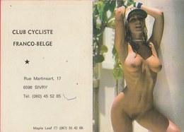 Kalender / Calendrier ... Coquin ...nu  -1984 ( 5 ) - Petit Format : 1981-90