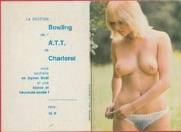 Kalender / Calendrier ... Coquin ...nu -1981 ( 8 ) - Petit Format : 1981-90