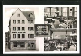 AK Mainz, Gasthaus Marktschänke Im Lennighaus, Markt 7 /9 - Mainz