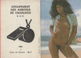 Kalender / Calendrier ... Coquin ...nu -1980 ( 10 ) - Calendriers